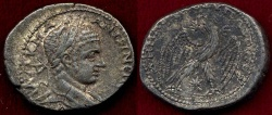 Ancient Coins - ELAGABALUS 219 AD  TETRADRACHM