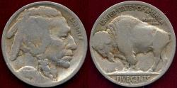 Us Coins - 1917-D BUFFALO NICKEL  GOOD ... FULL DATE