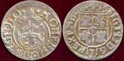 World Coins - POLAND / LITHUANIA  1587-1602  Silver 3 Poltorak
