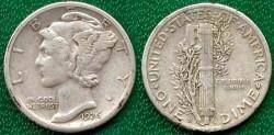 Us Coins - 1926-S MERCURY 10c ......  EXTRA FINE
