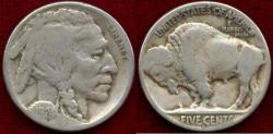 Us Coins - 1924-S BUFFALO 5c ...........  FINE+