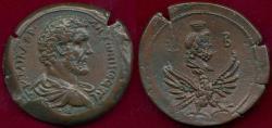 Ancient Coins - ANTONINUS PIUS  AE36  SERAPIS ... RARE!