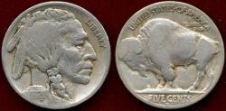 Us Coins - 1921-S  BUFFALO 5c  VF/VG