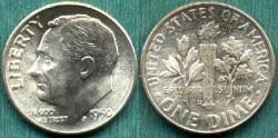 Us Coins - 1950-D 10c  GEM UNCIRCULATED
