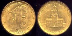 Us Coins - 1926 SESQUICENTENNIAL $2 1/2 GOLD  MS62