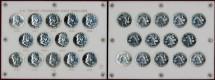 Us Coins - 1950-1963  50c PROOFS ...Exceptional  GEM SET
