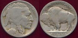 Us Coins - 1918-S BUFFALO NICKEL VG