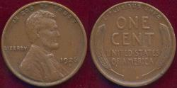 Us Coins - 1926-S LINCOLN CENT VF