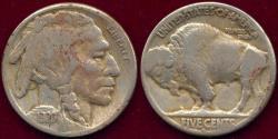 Us Coins - 1920-S BUFFALO 5c FINE