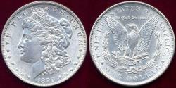 Us Coins - 1899 MORGAN DOLLAR  AU58