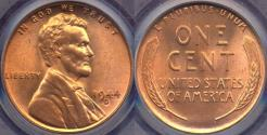 Us Coins - 1944-D LINCOLN CENT MS66RD
