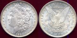 Us Coins - 1885-O MORGAN DOLLAR MS65..... Beauty