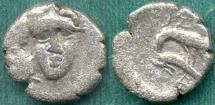 Ancient Coins - ISTROS/THRACE  400-350 BC  1/4 STATER