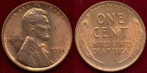 Us Coins - 1934  1c  CHOICE  UNCIRCULATED