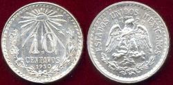 World Coins - MEXICO 1930 10 CENTAVOS   BI