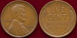 Us Coins - 1920-S 1c  CHOICE  EXTRA FINE