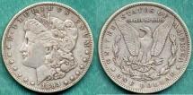 Us Coins - 1893-O MORGAN $1 .......PCGS   EXTRA FINE