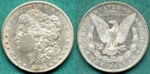 Us Coins - 1883-S MORGAN $1 ......PCGS AU53