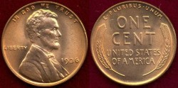 Us Coins - 1936  1c  GEM UNCIRCULATED