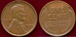 Us Coins - 1928-S 1c ..... Well Struck  UNCIRCULATED