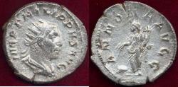 """Ancient Coins - PHILIP I  """"the Arab"""" 244-247 AD Antoninianus"""