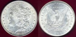 Us Coins - 1882 MORGAN $1 MS64  WHITE
