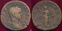 Ancient Coins - PHILIP II 244-249 SESTERTIUS