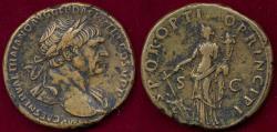 Ancient Coins - TRAJAN 98-117AD  SCARCE SESTERTIUS
