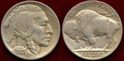 Us Coins - 1920-D BUFFALO 5c  XF45  (NGC XF40)
