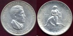 Us Coins - CINCINATTI 1936 50c Commemorative  MS64  WHITE