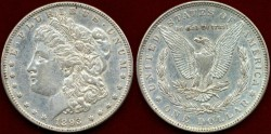 Us Coins - 1893  Morgan $1......About UNCIRCULATED