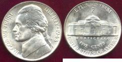 Us Coins - 1943-P JEFFERSON 5c MS65