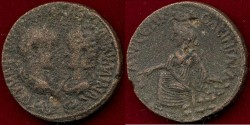 Ancient Coins - GORDIAN III - TRANQUILLINA   238-244 AD   AE30