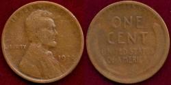 Us Coins - 1922 PLAIN  1c   VG