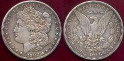 Us Coins - 1898-S MORGAN $1  XF45