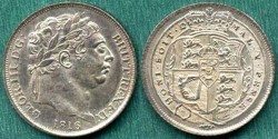 World Coins - GREAT BRITAIN 1816 ... 6 PENCE  ... GEM UNC