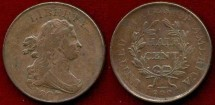 Us Coins - 1807  Draped Bust  1/2c....... EXTRA FINE