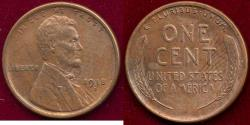 Us Coins - 1918-S LINCOLN 1c AU58