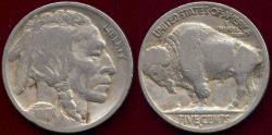 Us Coins - 1917-D BUFFALO NICKEL  VG