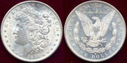 Us Coins - 1891-S MORGAN DOLLAR MS63