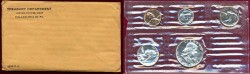 Us Coins - 1955  GEM PROOF SET... Flat Pack Type