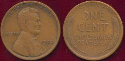 Us Coins - 1922-D LINCOLN 1c  FINE+