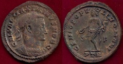 Ancient Coins - GALERIUS as CAESAR 293-305 AD  FOLLIS