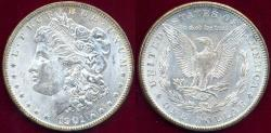 Us Coins - 1901-O MORGAN $1 MS63  WHITE Obv.