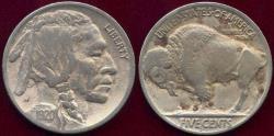 Us Coins - 1920-D BUFFALO NICKEL  FINE+