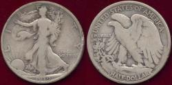 Us Coins - 1919-D WALKING LIBERTY 50c  GOOD