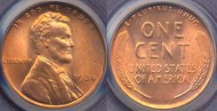 Us Coins - 1936 LINCOLN CENT  MS66RD  PCGS