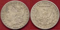 Us Coins - 1889-CC Morgan $1...... PCGS  FINE+