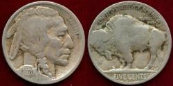 Us Coins - 1920-S BUFFALO 5c  VG VERY SHARP