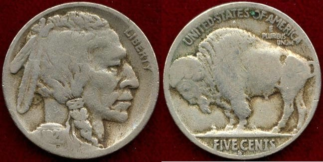 US Coins - 1921-S 5c   GOOD
